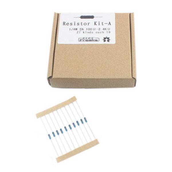 Resistor Kit A - 1/4W (270 pcs)