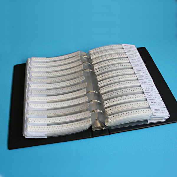 SMD Resistor Sample Book (8500 pcs) - 0603