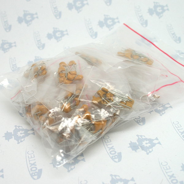 Ceramic Capacitor Kit (250pcs - 50V)