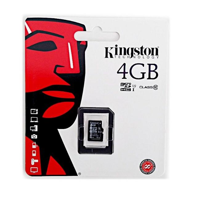 Kingston microSD Karte 4GB