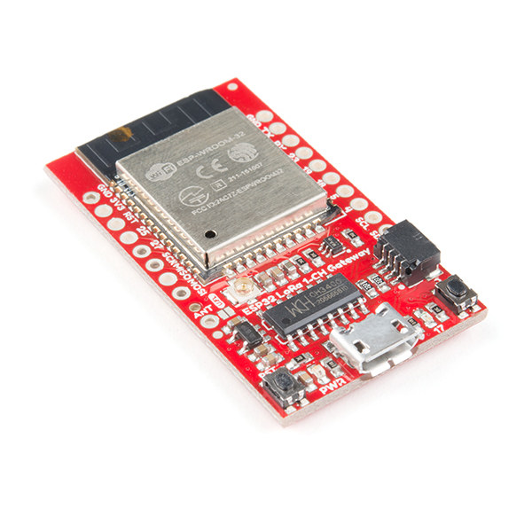 SparkFun LoRa Gateway 868-915MHz - 1-Kanal (ESP32)