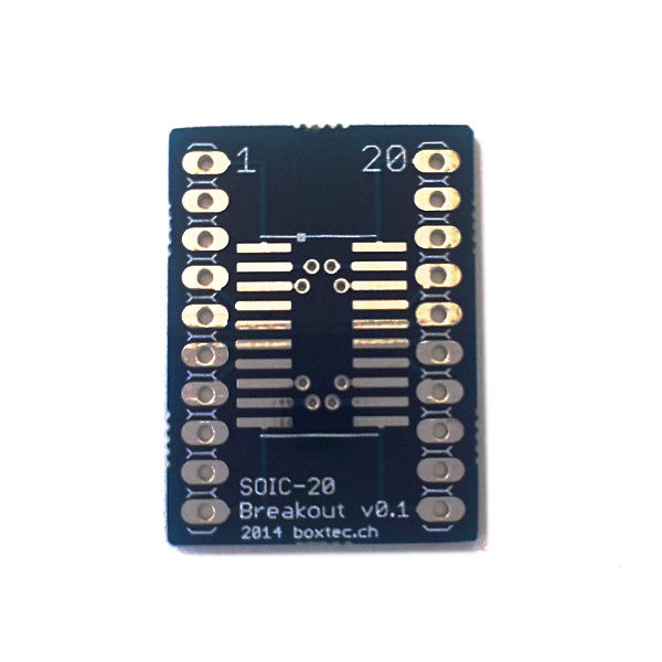 SOIC to DIP Adapter 20-Pin