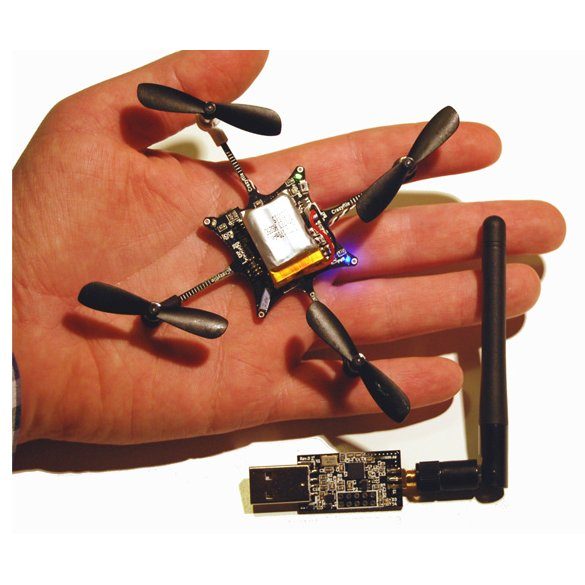 Crazyflie Nano Quadcopter Kit 6-DOF w/ Crazyradio (BC-CFK-01-B)