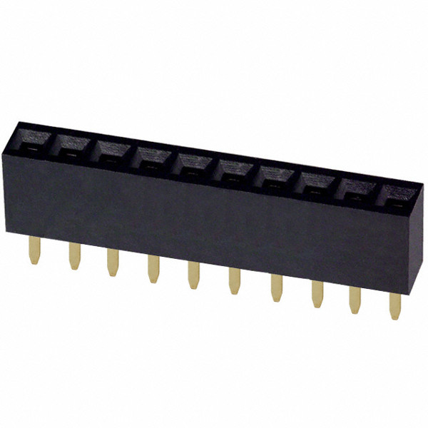 Headers female 1x10Pin