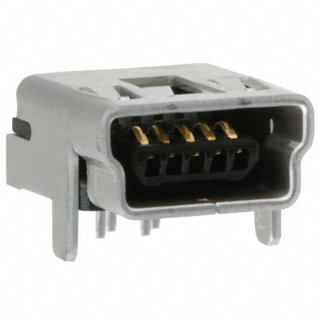 USB Female Mini-B Socket - THT
