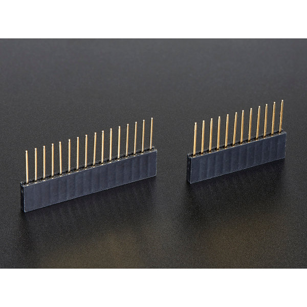 Feather Stackable Header Kit - 12-Pin + 16-Pin