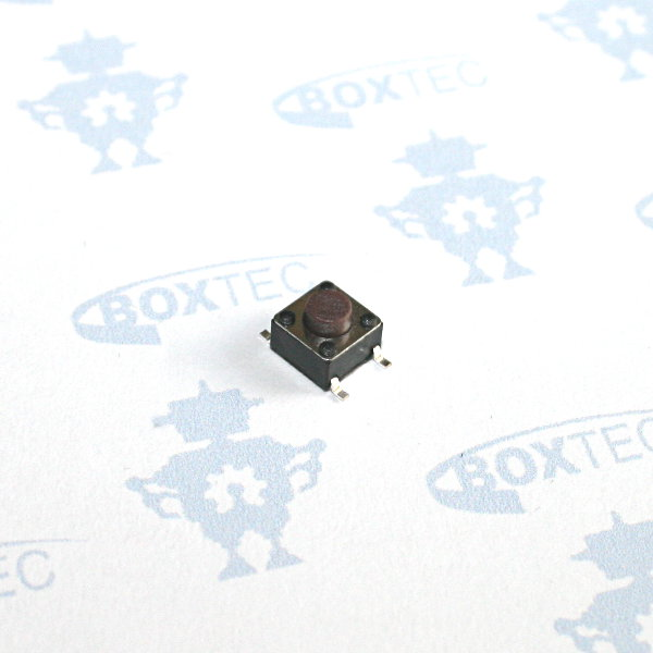 Mini Momentary Push Button Switch SMD (brown) - 6x6mm