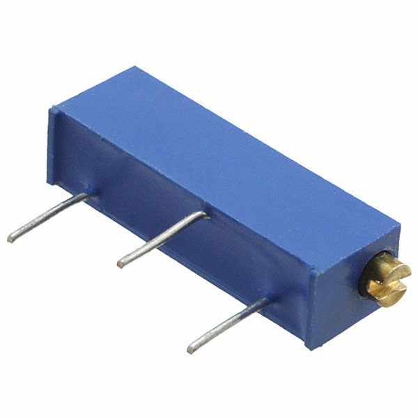 Trimmer Potentiometer 10k - 15 Umdrehungen