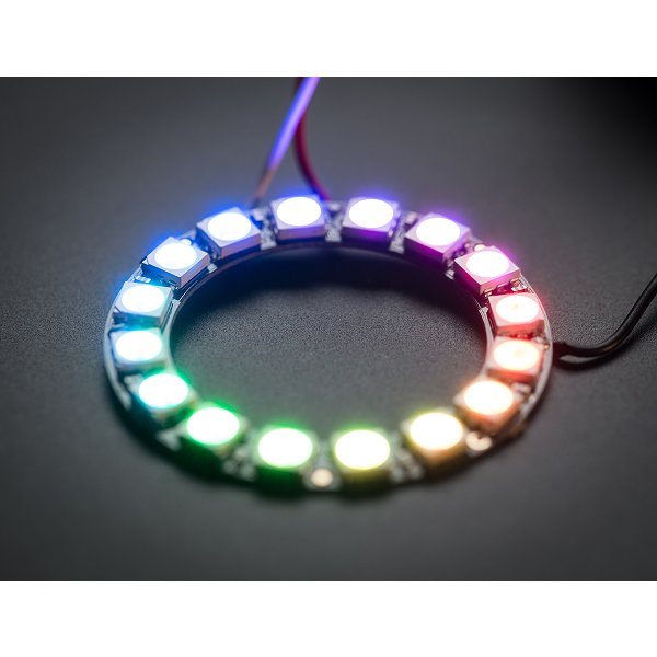 NeoPixel Ring - 16 x WS2812B 5050 RGB LED
