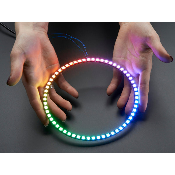 NeoPixel Ring 1/4 - 15 x WS2812 5050 RGB LED