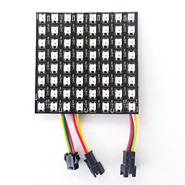 NeoMatrix 8x8 - 64 RGB LED Pixel Matrix