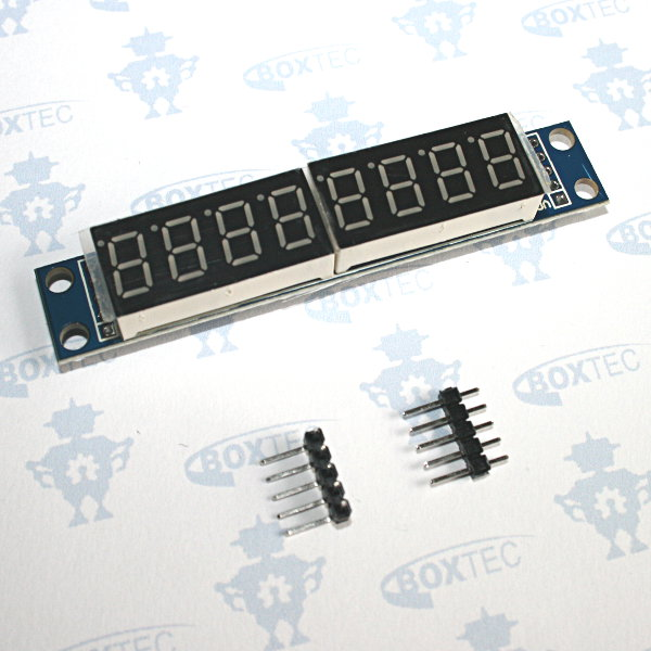 7-Segment Display 8-Digit (red) - MAX7219