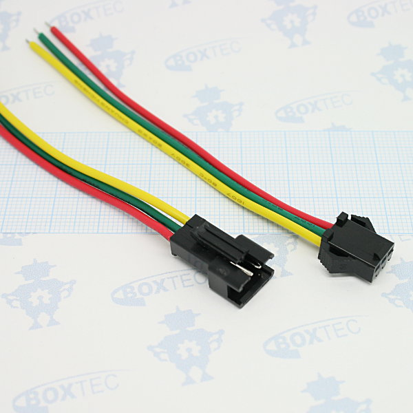 Neopixel LED Strip - Pigtail Connector 10cm (pair)