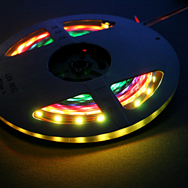 LED NeoPixel RGBW Strip 5m (SK6812 - 60LED/m - 3000K)