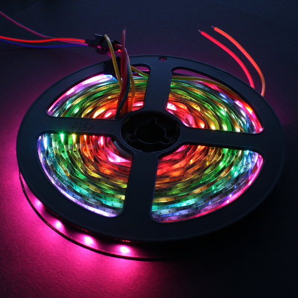 LED NeoPixel RGBW Strip 5m (SK6812 - 60LED/m - 6000K) - Electronics