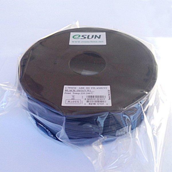 ABS Filament 1.75mm black (1kg)