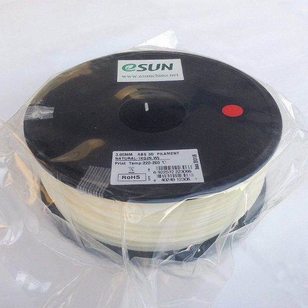 ABS Filament 3mm natural (1kg)