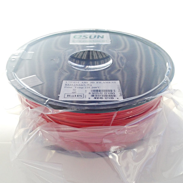 ABS Filament 1.75mm rot (1kg)