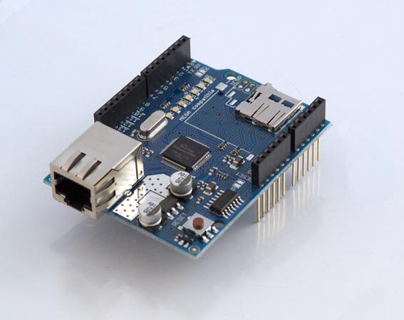 Arduino Ethernet Shield R3 ohne PoE